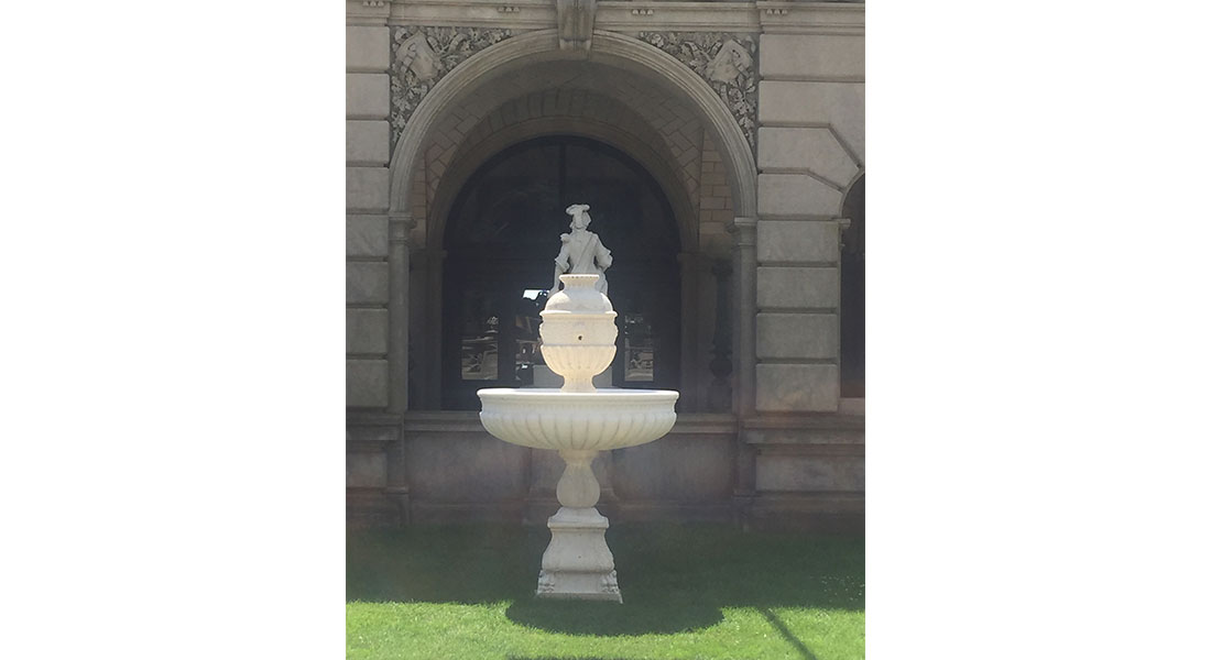 Breakers Mansion Fountain Replacement – Newport, RI
