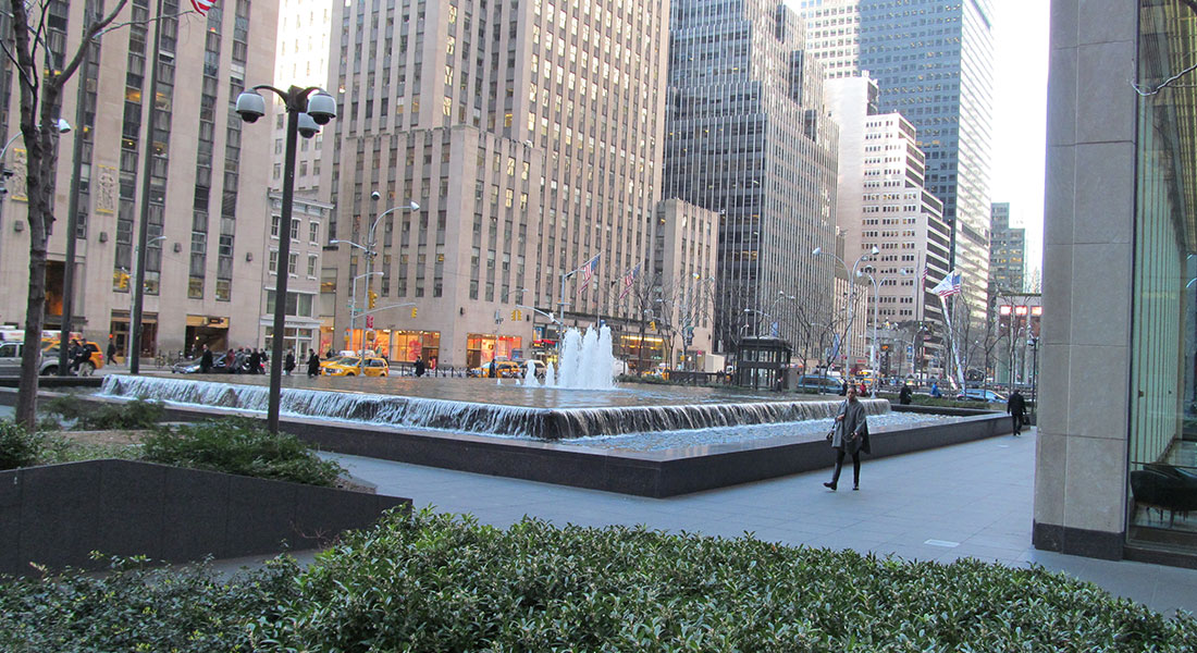 1251 Ave of the Americas Street Scape Project – New York, NY
