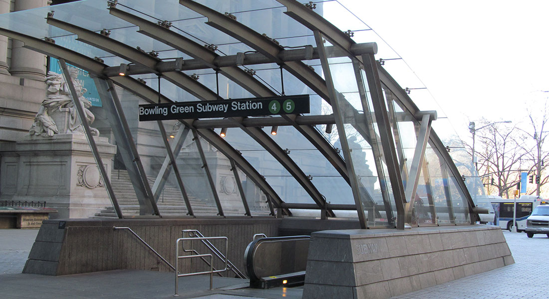 Bowling Green Subway Station Head House – New York, NY