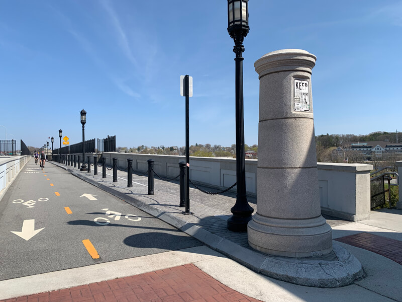 I-195 Washington Bridge Streetscape